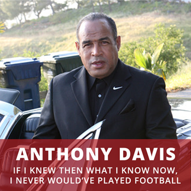 Famous football legend, Anthony Davis, talks about how football damaged his brain and how he has healed his brain - The Brain Warrior's Way Podcast.