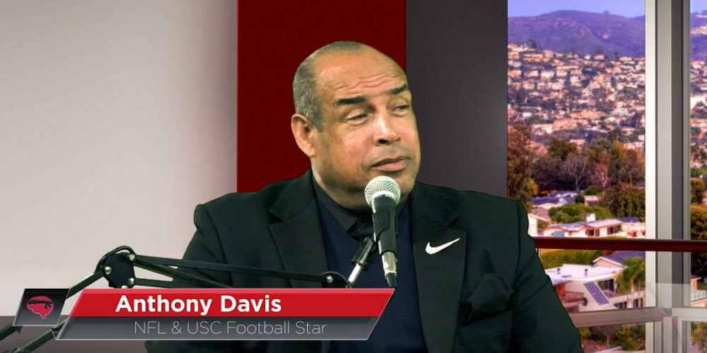 Anthony Davis on The Brain Warriors Way Podcast with Dr Daniel Amen and Tana Amen BSN RN